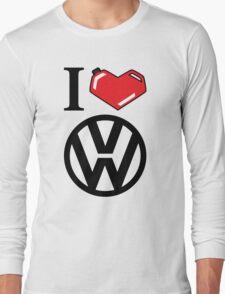 I Heart VW Long Sleeve T-Shirt