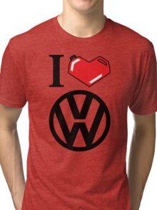 I Heart VW Tri-blend T-Shirt