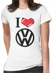 I Heart VW Womens Fitted T-Shirt