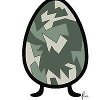 camo egg by Mariette (flowie) van den Heever