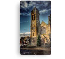 Peebles Parish Church Metal Print
