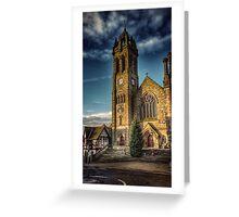 Peebles Parish Church Greeting Card