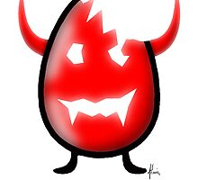 egg devil by Mariette (flowie) van den Heever