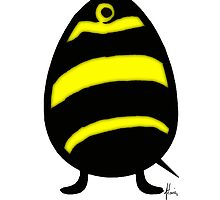 bee an egg by Mariette (flowie) van den Heever