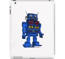 Blu Bot White iPad Case/Skin