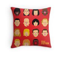 'Pulp Fiction' Throw Pillow