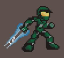 Pixel Master Chief Kids Clothes