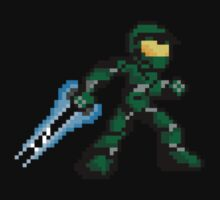 Pixel Master Chief Kids Tee