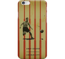 Andy Graver - Lincoln City iPhone Case/Skin