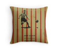 Andy Graver - Lincoln City Throw Pillow