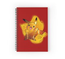 Pikachu w/ background Spiral Notebook