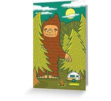 The Big 3: Big Foot Greeting Card
