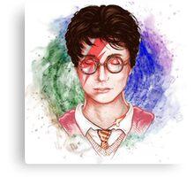 Harry Potter Head Canvas Print