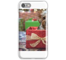 Yorkie in a Box iPhone Case/Skin