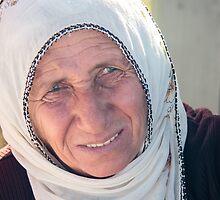 A Crafty Old Saleswoman in Cappadocia, Turkey by Robert Kelch, M.D.