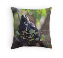 What you doing? Throw Pillow