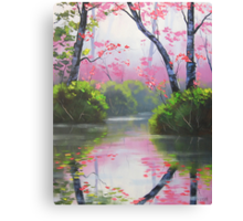 Peaceful River Canvas Print