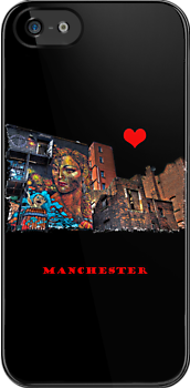 Colourful Manchester by inkedsandra