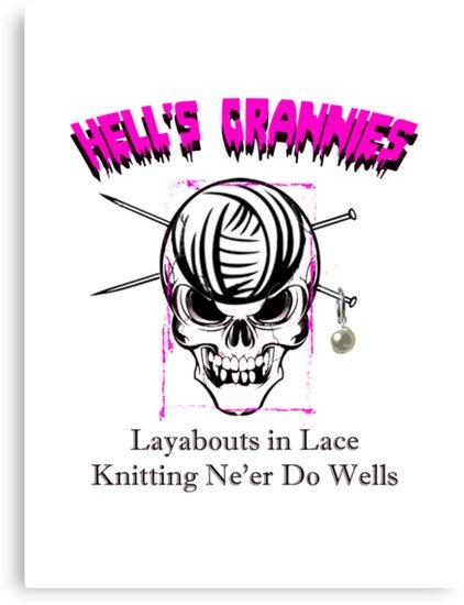 Knitting Ne'Er Do Wells by zamix