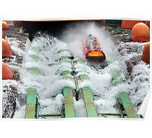 Isles of Adventure, Universal Theme Park, Orlando, Florida Poster