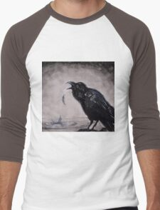 Raven Wish Men's Baseball ¾ T-Shirt