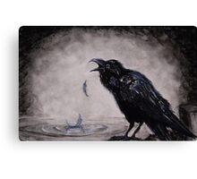 Raven Wish Canvas Print
