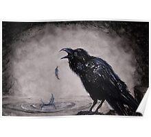 Raven Wish Poster