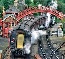 Goathland Station by Colin  Williams Photography