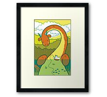 The Big 3: Loch Ness Framed Print
