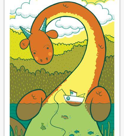 The Big 3: Loch Ness Sticker