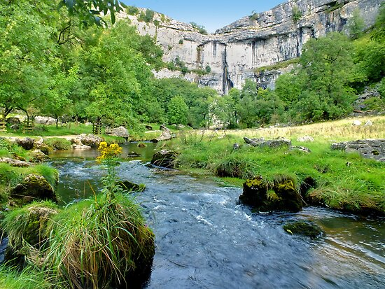 Below Malham Cove by Colin J Williams Photography