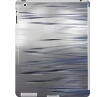 Reeds Abstract - blue iPad Case/Skin