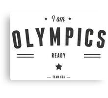 olympics Canvas Print