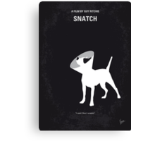 No079 My Snatch minimal movie poster Canvas Print