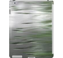 Reeds Abstract - green iPad Case/Skin