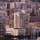 photography a a global view on the city of Monaco. by hpostant