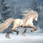 Winter Storm .. the stallions tale by LoneAngel