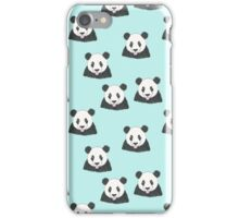 Panda Selfie Pattern iPhone Case/Skin
