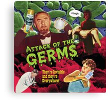 Attack of the Germs! Canvas Print