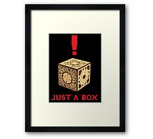 Just A Puzzle Box Framed Print