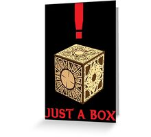 Just A Puzzle Box Greeting Card