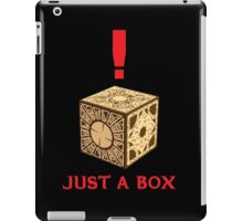 Just A Puzzle Box iPad Case/Skin
