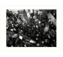 Loads of Bottles Art Print
