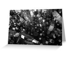 Loads of Bottles Greeting Card