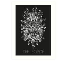 The Force Art Print