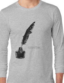 Write. Long Sleeve T-Shirt