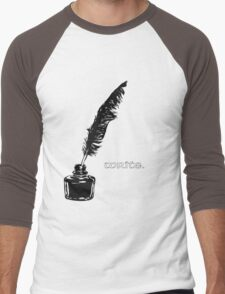 Write. Men's Baseball ¾ T-Shirt
