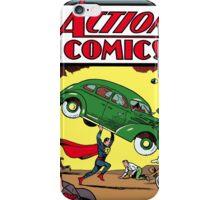 Superman Action Comics #1 iPhone Case/Skin
