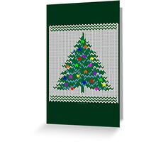 Christmas pullover Greeting Card