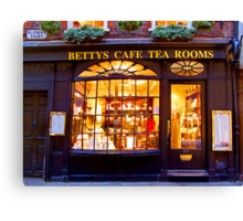 Bettys Tea Room - Stonegate York Canvas Print